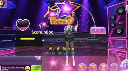 AU Stars – Dự án game nhảy kết hợp Karaoke mới của VTC Game