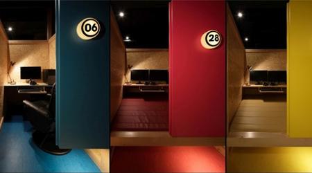 Độc đáo với quán net tiêu chuẩn như khách sạn 5 sao, có cả phòng ngủ