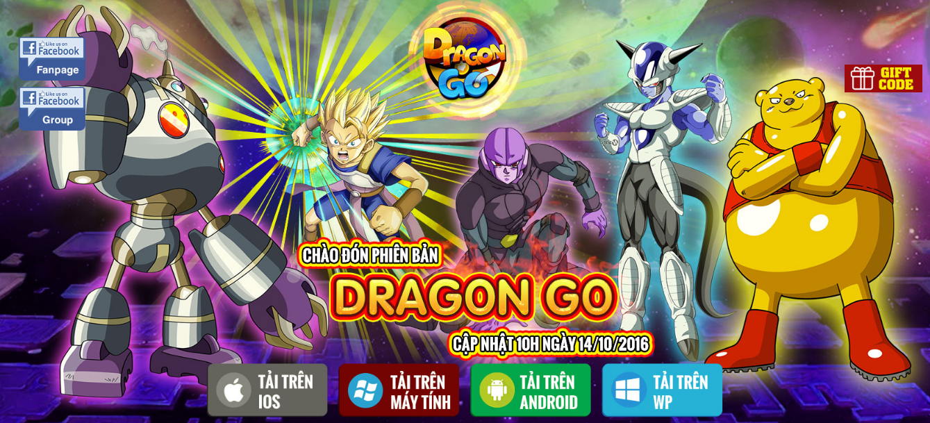 XemGame tặng 500 giftcode game Ngọc Rồng Đại Chiến