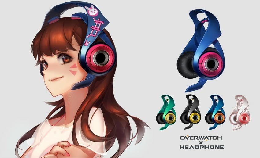 Độc đáo với bộ tai nghe phong cách Overwatch cực chất