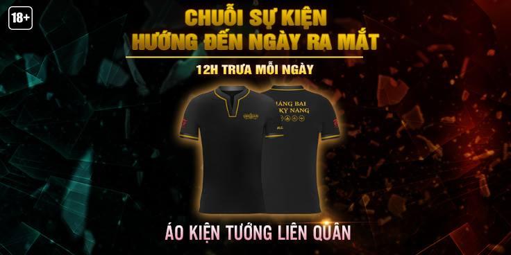 Liên Quân Mobile tổ chức sự kiện tặng áo cực hiếm cho người chơi trên fanpage