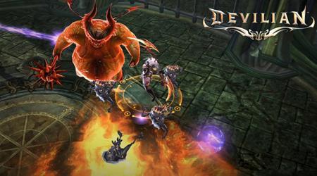 Devilian mobile cho game thủ hóa thần nhập quỷ chiến đấu đã tay