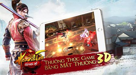 Hoành Tảo Giang Hồ 3D – Game võ hiệp đỉnh cao cập bến Việt Nam