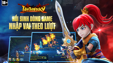 Tây Thiên Ký – Game nhập vai theo lượt của Garena ra mắt vào 21/12/2016
