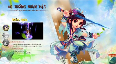 Thục Sơn Truyền Kỳ Online tung ảnh Việt hóa, ấn định ngày ra mắt game thủ Việt