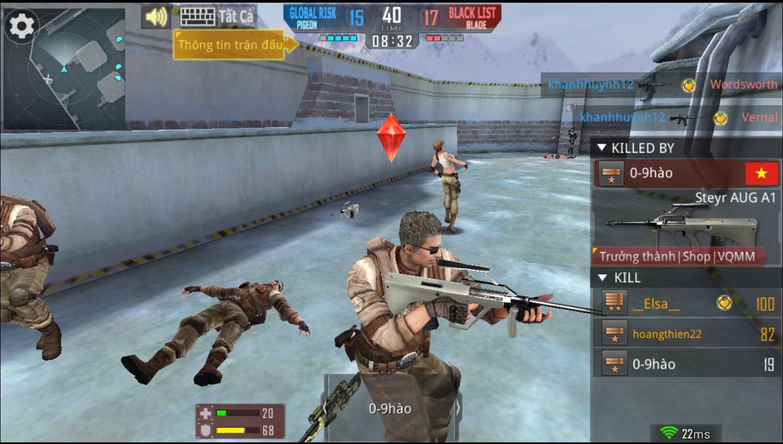 Phục Kích mobile mang đến một trải nghiệm mới mẻ cho những game thủ Đột Kích lâu năm