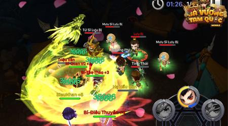 Bá Vương Tam Quốc tựa game mobile  có lối chơi độc đáo sắp ra mắt