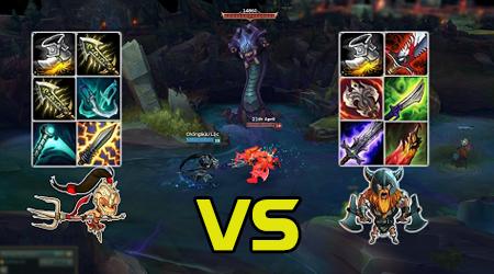 Liên Minh Huyền Thoại: Xinzhao full chí mạng vs Olaf full hút máu, ai sẽ thắng?