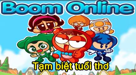 Boom Online – tựa game gắn liền với tuổi thơ nhiều game thủ tuyên bố đóng cửa