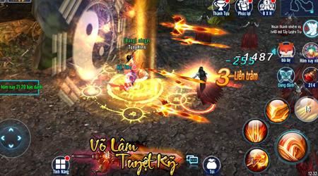 Võ Lâm Tuyệt Kỹ chuẩn bị ra mắt làng game Việt