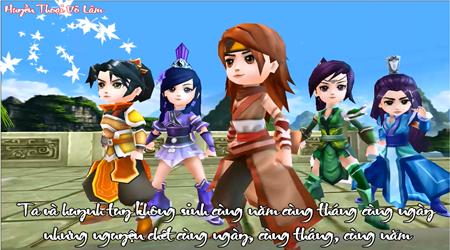 Huyền Thoại Võ Lâm – game kiếm hiệp đồ họa cực dễ thương sắp ra mắt