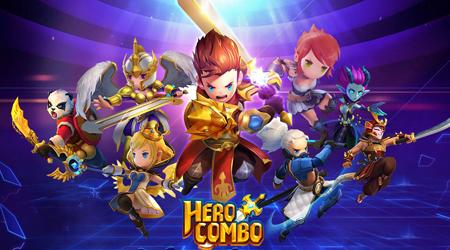Hero Combo – một làn gió mới với thể loại game kéo và thả