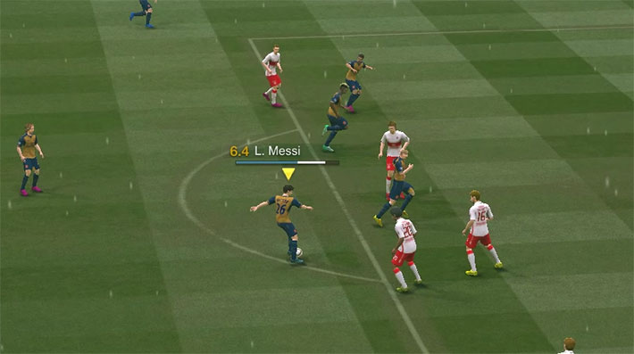 Đẳng cấp Chọc Khe trong Fifa Online 3 gameplay mới 2017