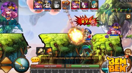Bem Bem Online, game bắn súng toạ độ mới sắp xuất hiện tại Việt Nam