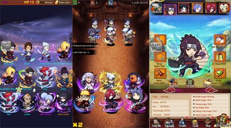 Vua Nhẫn Thuật mobile, một tựa game không thể bỏ qua cho fan của Naruto