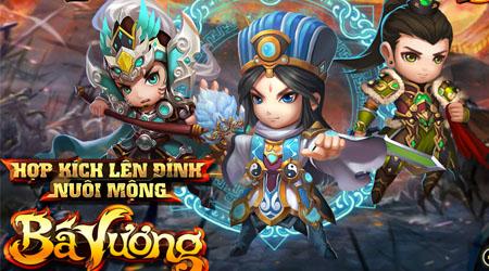 XemGame tặng 200 giftcode game Bá Vương Tam Quốc