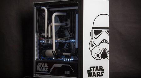 Chiếc PC phong cách Star Wars cực chất của game thủ Việt
