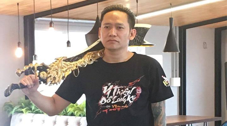 Ca sỹ Duy Mạnh đột kích trụ sở Ỷ Thiên 3D để …. xin code chơi game
