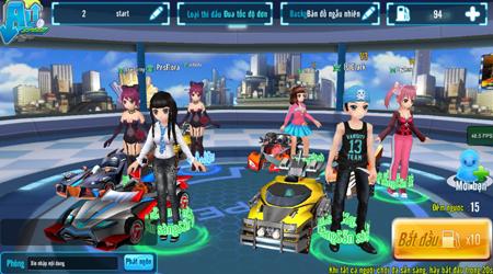 Game đua xe thời trang Au Speed hé lộ hình ảnh Việt hoá đầu tiên