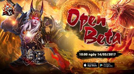 Kiếm Vũ Mobi mở open beta, tặng giftcode khủng cho game thủ