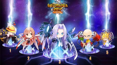 """Siêu Manga 2017 – game mobile lấy đề tài truyện tranh """"thập cẩm"""" sắp xuất hiện"""
