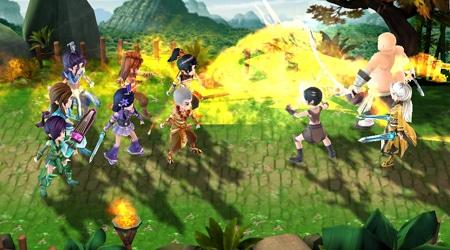 Huyền Thoại Võ Lâm hội tủ yếu tố của một game nhập vai kết hợp chiến thuật độc đáo