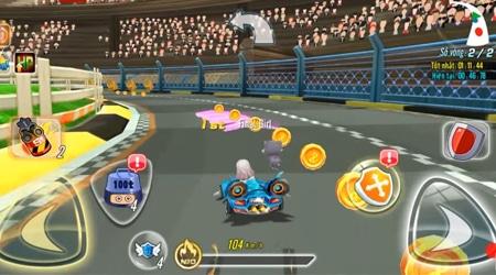 Cận cảnh AU Speed – Game đua xe cực vui nhộn với vô số đạo cụ và thời trang