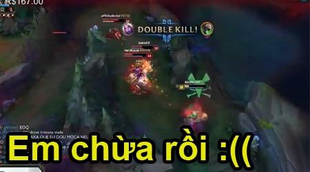 Đừng nhờn với Soraka lên full AD, em sợ lắm rồi :((