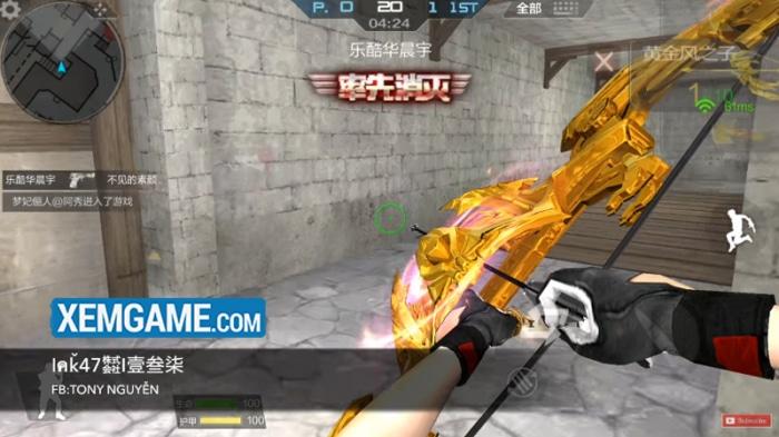 CF Mobile - Crossfire legends Việt Hóa