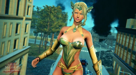 """Tựa game 16+League of Maidens tung trailer """"bỏng mắt"""""""