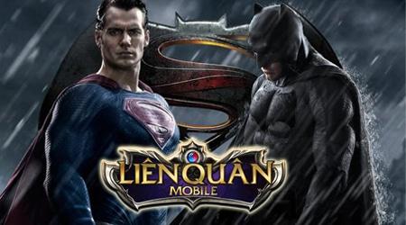 Bộ 3 Joker, Batman, Superman sắp đánh nhau to trong Liên Quân Mobile