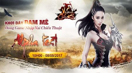 Vô Song Chiến Ký, webgame chiến thuật chuẩn bị đến tay game thủ Việt