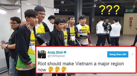 """Ông chủ của TSM: """"Riot nên cho ngay Việt Nam thành một khu vực lớn hơn"""""""