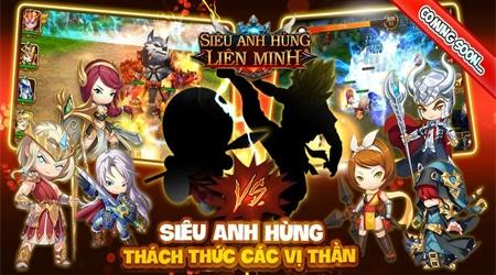 Siêu Anh Hùng Liên Minh – game moba kết hợp đấu thẻ tướng cập bến Việt Nam