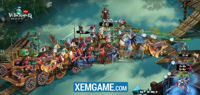 Vận Tiêu vào thời điểm tốt trong Webgame Võ Lâm Truyền Kỳ VNG
