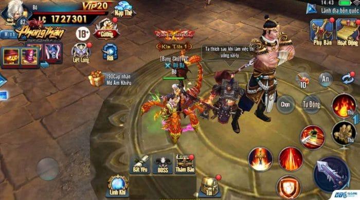 Phong Thần VTC Game | XEMGAME.COM