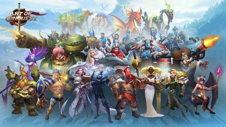 Art Of Conquest, tựa game chiến thuật với đồ hoạ cực kì đẹp mắt