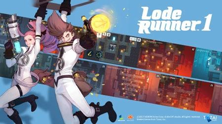 Lode Runner 1, tựa game đi cảnh giải đố đầy hấp dẫn đến từ Nexon
