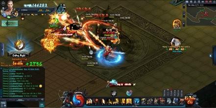 Webgame Võ Lâm Truyền Kỳ vẫn giữ nguyên những hoạt động kinh điển