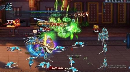 Webgame Võ Lâm Truyền Kỳ có hệ thống võ công cực kì đa dạng