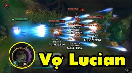 Nếu Riot Games làm tướng mới chính là vợ của Lucian thì sẽ như thế nào?
