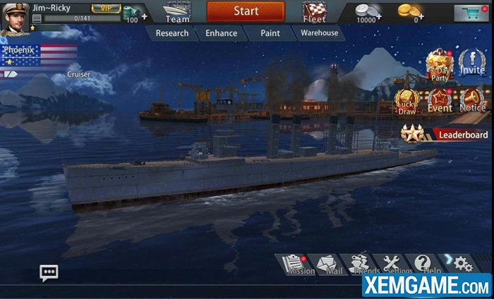 thuỷ chiến 3d mobile