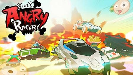Tham gia đường đua cực kì vui nhộn của Angry Racer Live