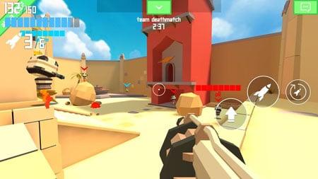 Rocket Shock 3D – game bắn súng đấu mạng cực kì thích hợp để giải trí