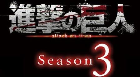 Attack On Titan season 3 hé lộ trailer, phát hành vào năm 2018