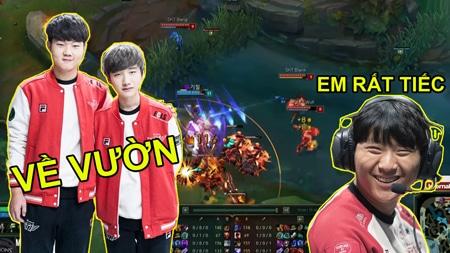 SKT vs ROX: Peanut và Huni chính thức về vườn nhường chỗ cho Blank và Untara thể hiện