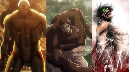 TOP 5 Titan mạnh nhất trong Attack On Titan sau 2 phần công chiếu