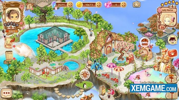 Vương Quốc Trên Mây | XEMGAME.COM