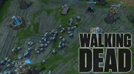 """""""The Walking Dead"""" phiên bản Liên Minh Huyền Thoại"""