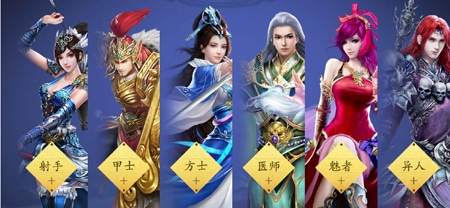 Giới thiệu những nhân vật sẽ góp mặt trong Thiện Nữ mobile